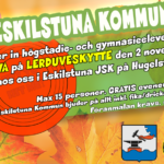 Eskilstuna-elever får prova lerduveskytte på höstlovet